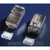 Netrack plug RJ45 8p8c,FTP for stranded cable, cat. 6 (100 pcs.)