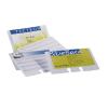 Névjegykártyatartó tasak Durable 40 db/csomag