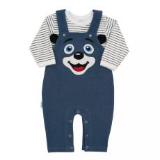 NEW BABY 2-részes baba együttes New Baby For Babies kék