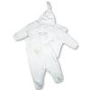 NEW BABY 4 részes babaegyüttes | Fehér | 56 (0-3 h)
