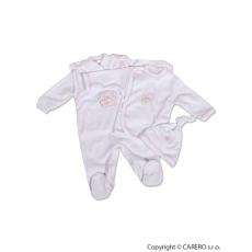 NEW BABY 4 részes babaegyüttes fehér kabátkával