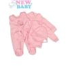 NEW BABY 5-részes együttes | Rózsaszín | 62 (3-6 h)