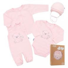 NEW BABY Baba együttes New Baby Sweet Bear rózsaszín