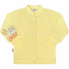 NEW BABY Baba kabátka New Baby chug sárga