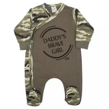 NEW BABY Baba kezeslábas New Baby Army girl babakabát, overál, bundazsák