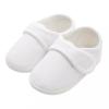 NEW BABY Baba kiscipő New Baby Linen fehér 3-6 h
