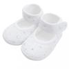 NEW BABY Baba kislányos cipő New Baby ezüst-fehér 0-3 h