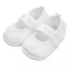 NEW BABY Baba kislányos cipő New Baby szatén fehér 0-3 h