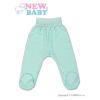 NEW BABY Baba lábfejes nadrág New Baby türkiz | Türkiz | 62 (3-6 h)