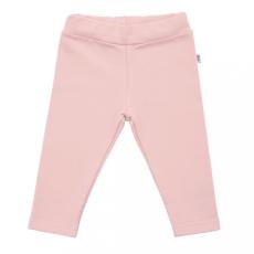 NEW BABY Baba pamut leggings New Baby Leggings világos rózsaszín