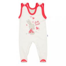 NEW BABY Baba rugdalózó New Baby Lovely Rabbit rózsaszín