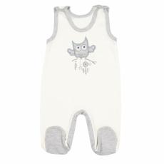 NEW BABY Baba rugdalózó New Baby Owl bézs