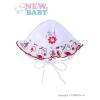 NEW BABY Baba sapka New Baby Katica   Fehér   62 (3-6 h)