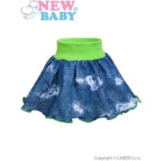 NEW BABY Baba szoknya New Baby Light Jeansbaby zöld