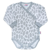 NEW BABY Baba teljes hosszában patentos body New Baby Zsiráf   Fehér   62 (3-6 h)