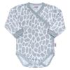NEW BABY Baba teljes hosszában patentos body New Baby Zsiráf   Fehér   68 (4-6 h)