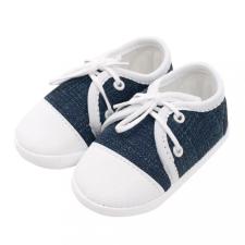 NEW BABY Baba tornacipő New Baby Jeans kék 3-6 h gyerek cipő