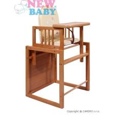 NEW BABY Bükkfa szék New Baby  Victory - természetes   Természetes   etetőszék