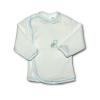 NEW BABY Csecsemő ingecske hímzett képpel New Baby kék | Kék | 62 (3-6 h)