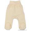 NEW BABY Csecsemő lábfejes nadrág New Baby bézs | Bézs | 86 (12-18 h)