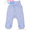NEW BABY Csecsemő lábfejes nadrág New Baby Classic | Kék | 86 (12-18 h)