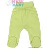 NEW BABY Csecsemő lábfejes nadrág New Baby Classic | Zöld | 86 (12-18 h)