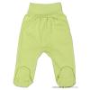 NEW BABY Csecsemő lábfejes nadrág New Baby zöld | Zöld | 50