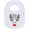 NEW BABY Gyerek előke New Baby Merry Christmas