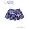 NEW BABY Gyermek rövidnadrág New Baby Zebra kék | Kék | 68 (4-6 h)