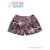 NEW BABY Gyermek rövidnadrág New Baby Zebra rózsaszín | Rózsaszín | 110 (4-5 éves)