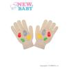 NEW BABY Gyermek téli kesztyű New Baby Girl bézs | Bézs | 122 (6-7 éves)