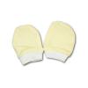 NEW BABY Kesztyű újszülöttek számára sárga   Sárga   56 (0-3 h)