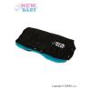 NEW BABY Kézmelegítő babakocsira Classic Fleece fekete/kék   Kék  