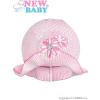NEW BABY Kötött kalap New Baby rózsaszín - rózsaszín