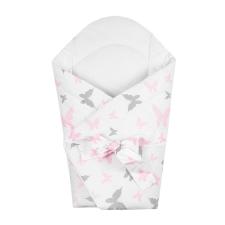 NEW BABY | Lepkék | Pólya kókusz betéttel és masnival New Baby fehér pillangó | Fehér | pólya