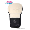 NEW BABY Luxus lábzsák gyapjúval New Baby fekete | Fekete |