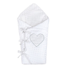 NEW BABY | Nem besorolt | Luxus megkötős pólya Minka New Baby fehér 75x75 cm | Fehér |