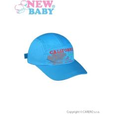 NEW BABY Nyári gyermek baseball sapka New Baby California kék