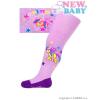 NEW BABY Pamut harisnyanadrág New Baby lila karino