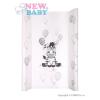 NEW BABY Pelenkázó lap New Baby Zebra fehér 70x50 | Fehér |