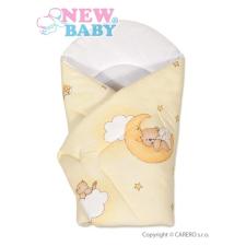 NEW BABY Pólya New Baby sárga maci | Sárga | pólya