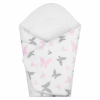 NEW BABY Pólyakendő New Baby fehér pillangó