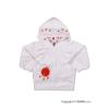 NEW BABY Szemis pulóver kapucnival | Fehér | 80 (9-12 h)