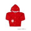 NEW BABY Szemis pulóver kapucnival | Piros | 80 (9-12 h)