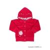 NEW BABY Szemis pulóver kapucnival | Rózsaszín | 68 (4-6 h)