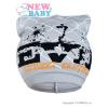 NEW BABY Tavaszi gyerek sapka New Baby felirattal szürke | Szürke | 104 (3-4 éves)
