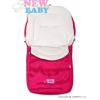 NEW BABY Téli lábzsák New Baby Classic Fleece rózsaszín | Rózsaszín |