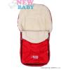 NEW BABY Téli lábzsák New Baby Classic Wool piros   Piros  