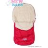 NEW BABY Téli lábzsák New Baby Classic Wool rózsaszín   Rózsaszín  