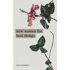 New Names for Lost Things – Noor Unnahar idegen nyelvű könyv